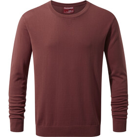 Craghoppers NosiLife Berkley Crew T-shirt Heren, carmine red